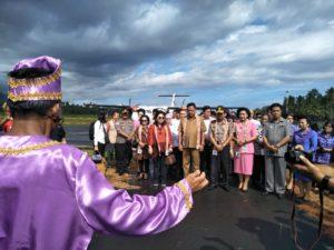 Gubernur Sulut Tiba di Sangihe